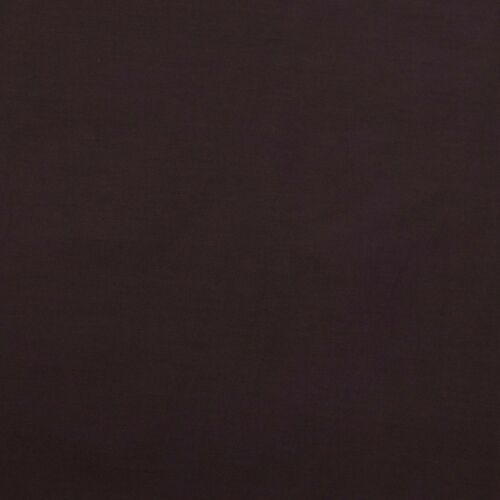 Tessuto creativo Cotone Bandiere Panno Tinta Unita Marrone scuro Larghezza 1,45m