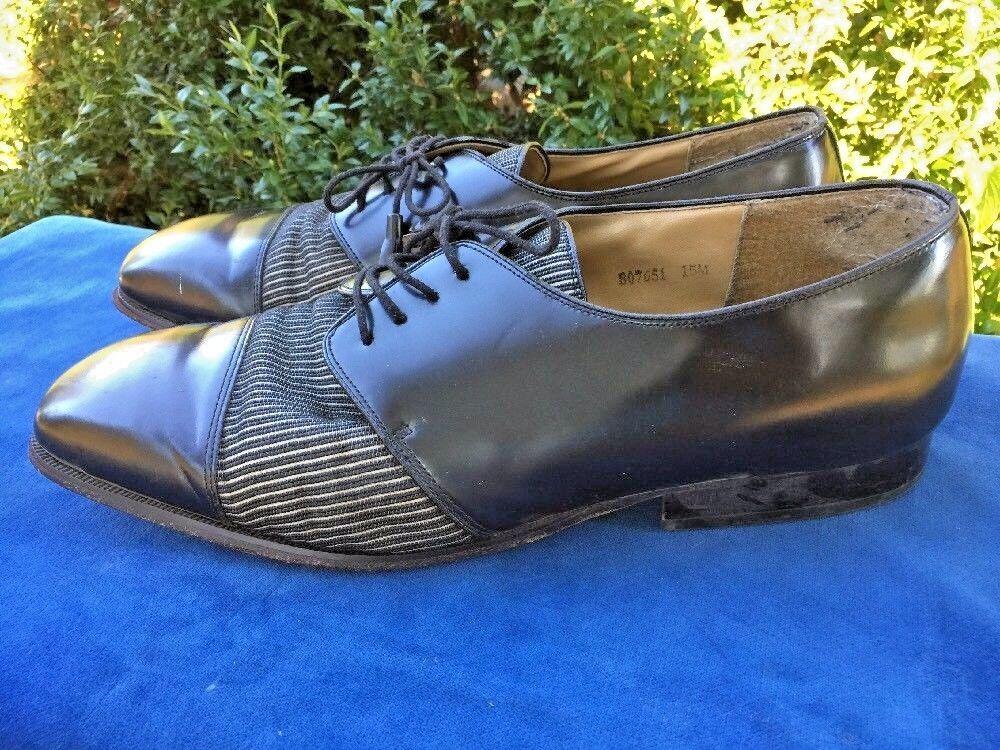 SALE @ GIORGIO BRUTINI Italian Godfather Uomo Scarpe Oxford Loafers Pelle Sz 15