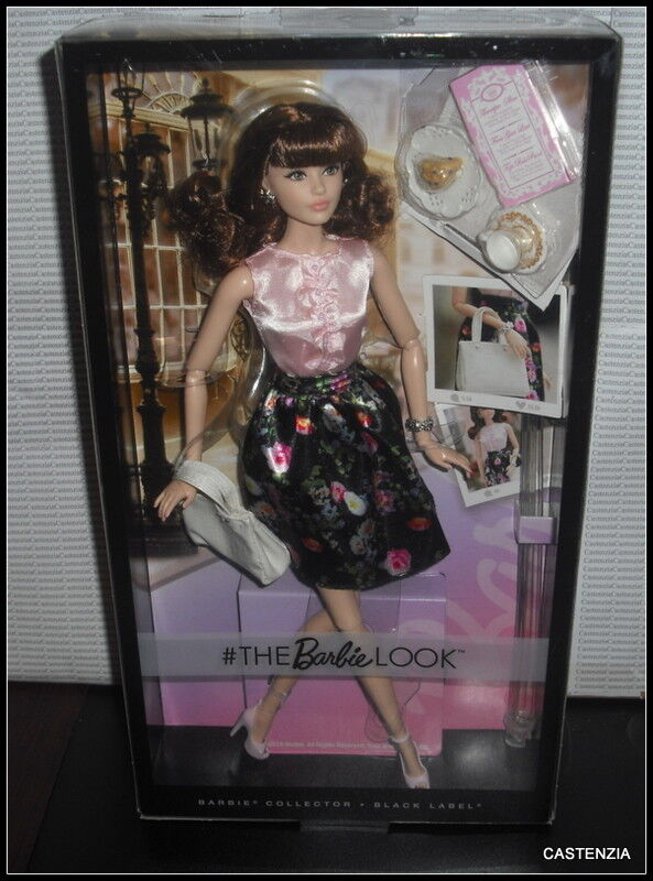 NRFB BARBIE DOLL MATTEL THE LOOK SWEET TEA ARTICULATED  FACE schwarz LABEL