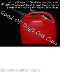 Image Is Loading Nos 1 0 Gallon Gas Can With A