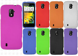 For-Straight-Talk-ZTE-Majesty-796C-Rubberized-HARD-Case-Snap-On-Phone-Cover