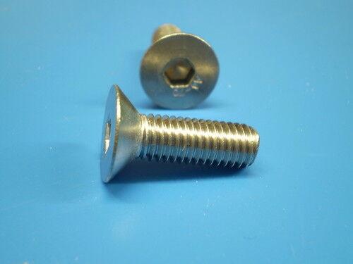 Gargouilles v2a 240 en acier inoxydable tête cylindrique vis DIN 7991 Starter Set m4