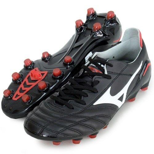 Mizuno Morelia Neo Zapatos De Fútbol 12kp305 Negro Cuero De Canguro Hecho En Japón