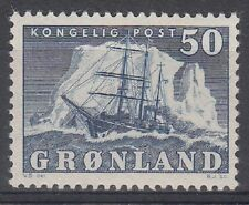 Greenland Scott 35 Mint NH (key value in set) - Catalog Value $52.50