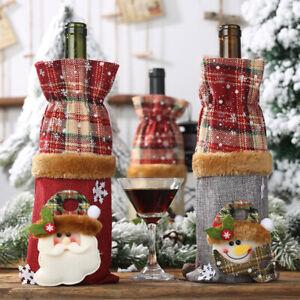 1pc-Christmas-Wine-Bottle-Covers-Bag-Linen-Santa-Claus-Xmas-Decorations-For-Home
