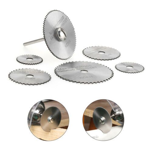 HSS Ultra-thin Rotary Cutting Blade Electric grinder accessories 7pcs Sets K3C9