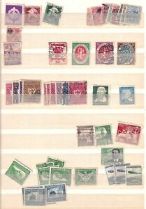 GERMANY AND AREA 2 STOCK PAGES COLLECTION LOT OG H-NH CXLS AIRMAIL SEMI POSTAL