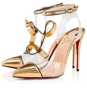 pretty nice 65d66 9148a Details about $1295 NEW!!! CHRISTIAN LOUBOUTIN Alta Firma 100mm Size 41