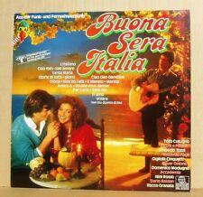 LP V/A Buona Sera Italia Tozzi Cutugno Cinquetti Ricchi e Poveri...Ariola 1984