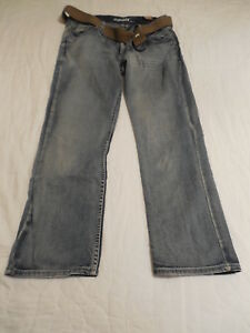 L30 Hommes Nouveau tags X Distressed entrejambe 29 W Ceinture Jeans Flypaper Droit W34 w10ExHxAXq