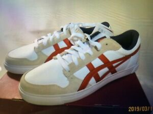 competitive price f22f4 50998 Details about Asics Onitsuka Tiger White/RED Shoes A-SYS SIZE US#9 JP27