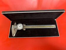 Vintage Engineering Equipment German Helios Calipers Scale In Case