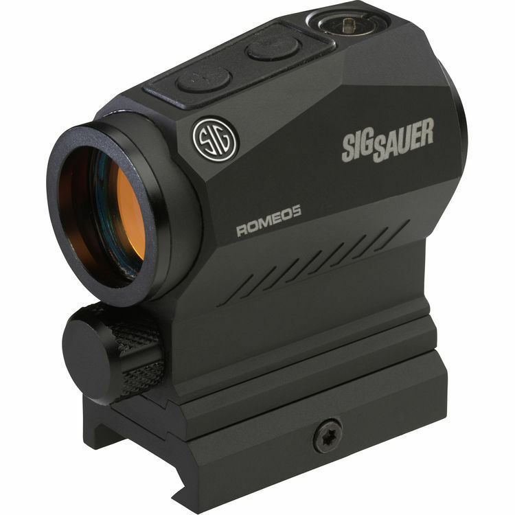 SIG Sauer ROMEO5 XDR Rotpunkt Sichtschutz Scope 65 MOA Circle 2 MOA Dot SOR52102