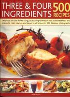 Three & Four Ingredient / 500 Recipes By Bridget Jones