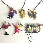 Hanna-Barbera Wacky Races Mini Figure Strap 6pcs Full Set import Japan