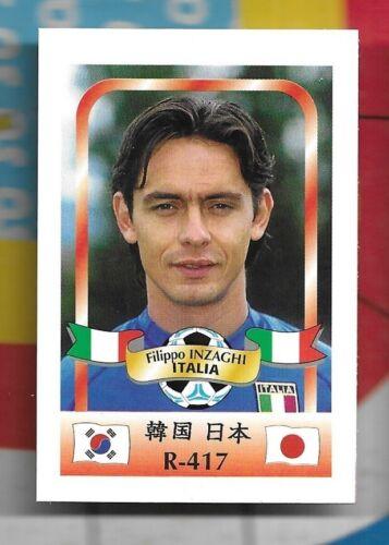 2002 Tarjetas De Fútbol Copa del Mundo Italia Italia jugadores de muchos diferentes
