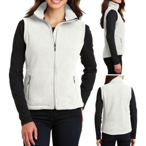 Ladies Winter Warm Polar Fleece Vest Womens XS S M L XL 2XL 3XL 4XL Womens NEW