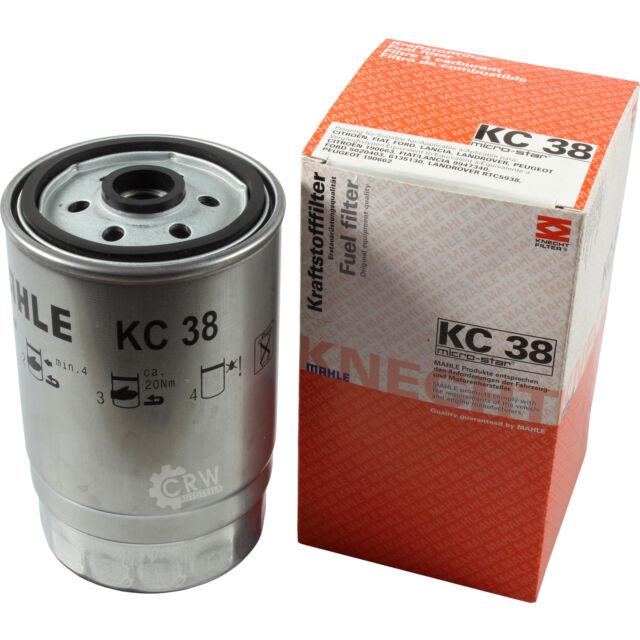 Original MAHLE Kraftstofffilter KC 38 Fuel Filter