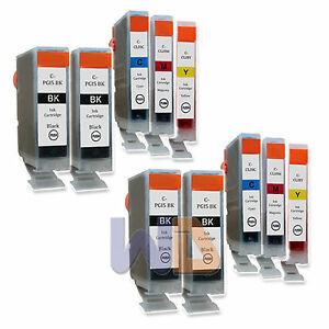 10-PK-PGI-5-CLI-8-Ink-Cartridge-PGI-5-CLI-8-WITH-NEW-CHIP-for-Canon-MP950-4PGI-5