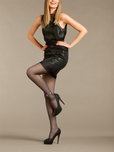 Le Bourget Bijoux 20 Denier Crystal Anklet Tights Perfect for Special occassions