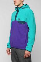 $139 New Patagonia Men's Snap t Fleece Pullover Hoody Teal Green Sz S M L XL