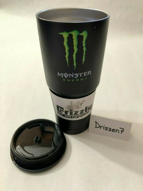 Monster Energy Athlete Only Grizzly Grip 32oz Cup