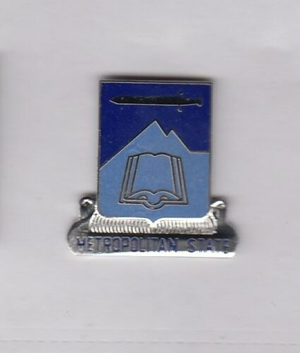 CO crest DUI badge G-23 US Army ROTC Metro State College