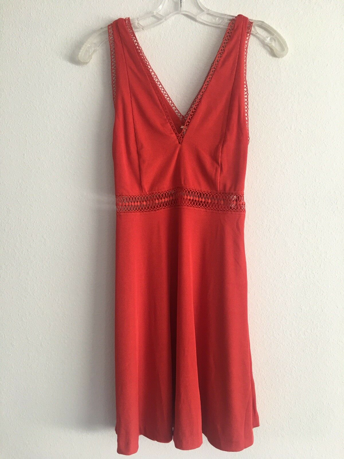 Free People, King Of My Heart A-Line Dress, Red. Sz.0, NWT.