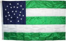 3x5 Embroidered New York City Police Department NYPD Nylon Flag 3/'x5/' w// 2 clips