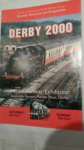 2019 DernièRe Conception Model Railway Exhibition Magazine , Derby 2000.