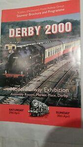 2019 DernièRe Conception Model Railway Exhibition Magazine , Derby 2000.