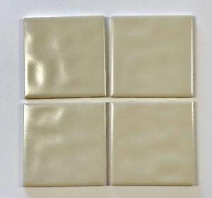 Rare Lot DalTile D Crystaltex Roma Almond Gloss Ceramic Tile - Daltile clovis