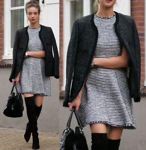 Vokset Vævet Medium Struktureret M Zara Jakke Fantasy Størrelse Blazer Woman wO4nqtHZI