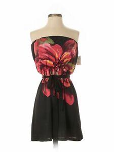 NWT-Charlotte-Russe-Women-Black-Dress-S