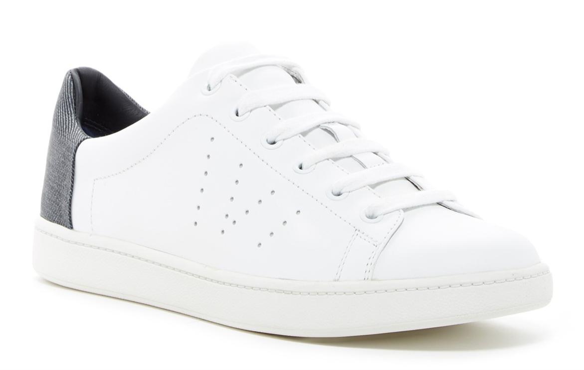 Vince Varin Women's White Denim Denim Denim Sneaker Sz 11 1778 d49f6b
