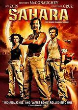 Sahara (NEW DVD!!) Penélope Cruz, Matthew McConaughey/English and French