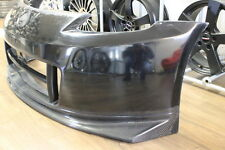 Nissan 350Z Z33 N2 Front Bumper Carbon Fibre Lip supplied with Canards Body Kit