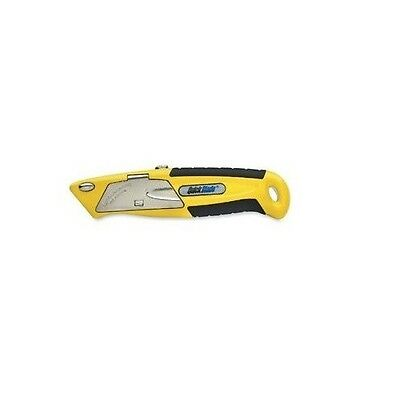 New PHC QuickBlade Safety Cutter Auto Reloader Yellow 5 Blades QBA375