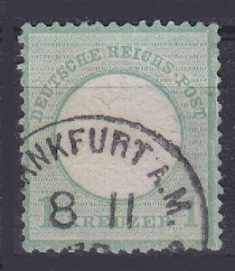 Breast Shield Mi No. 23 With K1 Frankfurt Gest German Reich 1872