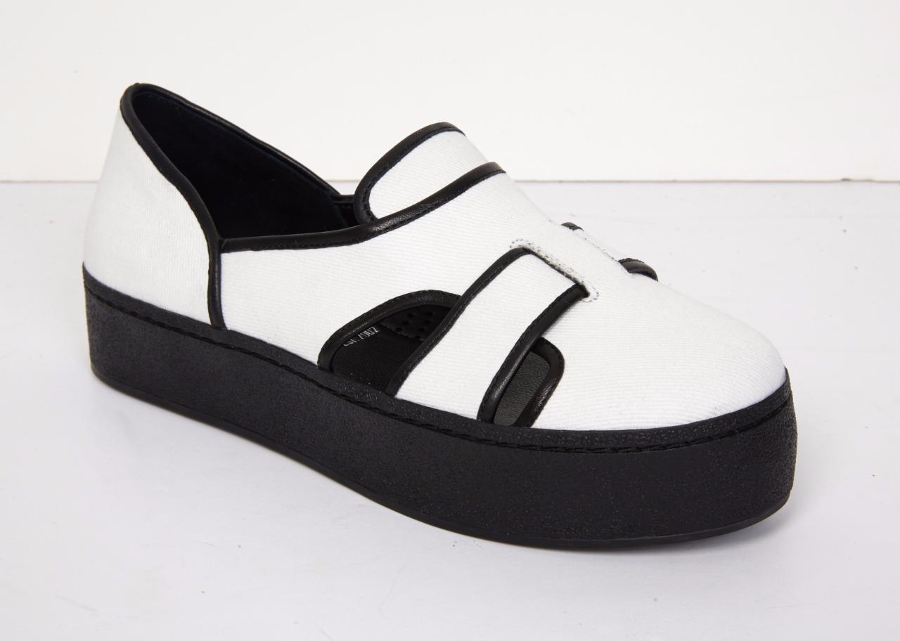 alta quaità OPENING CEREMONY donna donna donna bianca Binx Platform Slip-On scarpe da ginnastica SOLD OUT 10-40  225  varie dimensioni
