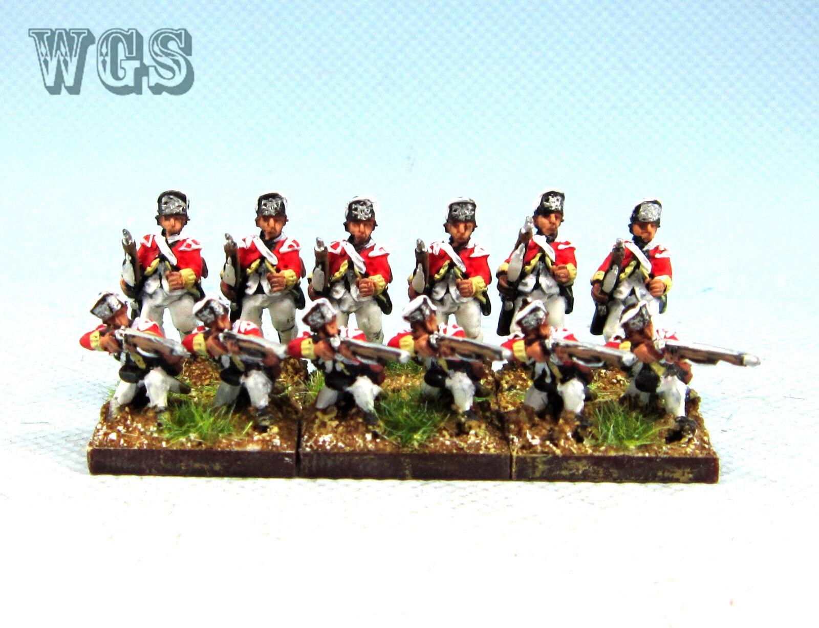 15mm American War of Independence WGS painted  British Grenadier AWB3