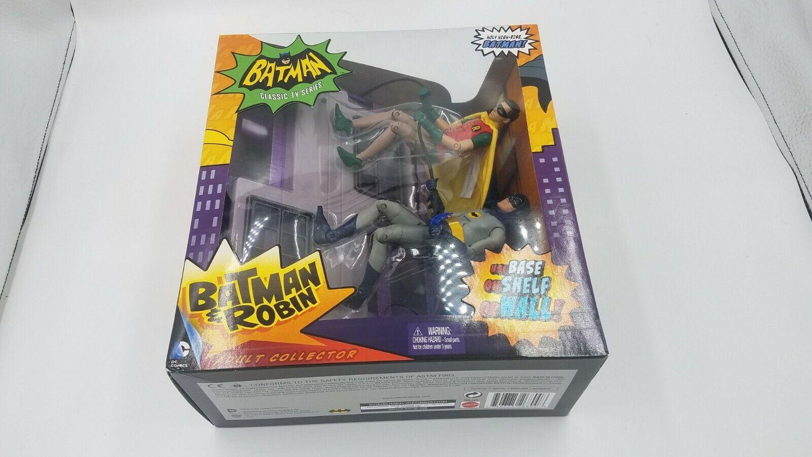 DC Universe Classics  Batman y Robin 1966 Figura De Acción De Lujo Conjunto  Dcuc