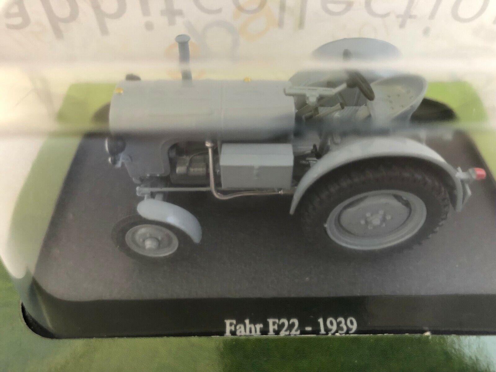 Fendt f22 1939 tractor remolcador gris Grey 1:43