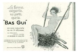 Publicite-ancienne-bas-Gui-en-soie-naturelle-1930-issue-de-magazine