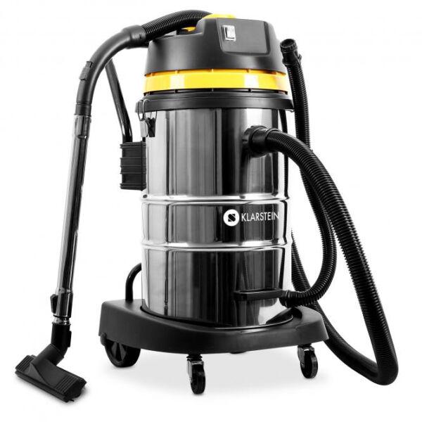 wet dry vacuum cleaner by klarstein 2000 watt 50l. Black Bedroom Furniture Sets. Home Design Ideas