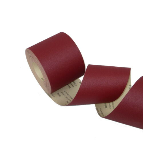 1 Rolle ECKRA® Schleifpapier 115mm x 50m E-Papier P80 Handschleifpapier