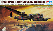 "AVRO LANCASTER B Mk.III ""DAMBUSTER"" & ""GRAND SLAM"" TAMIYA 1/48 PLASTIC KIT"