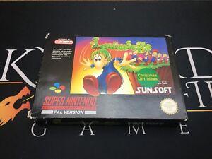 Lemmings-Super-Nintendo-Entertainment-System-teste-UKV-PAL