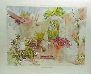 At-Sundown-by-Beth-Eidelberg-Floral-Garden-Patio-Bromeliad-Palm-Wall-Art-Print