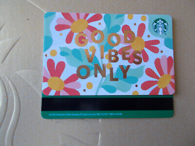 "STARBUCKS gift card 2020 /""CALIFORNIA/"" VHTF No Value Not Activated"